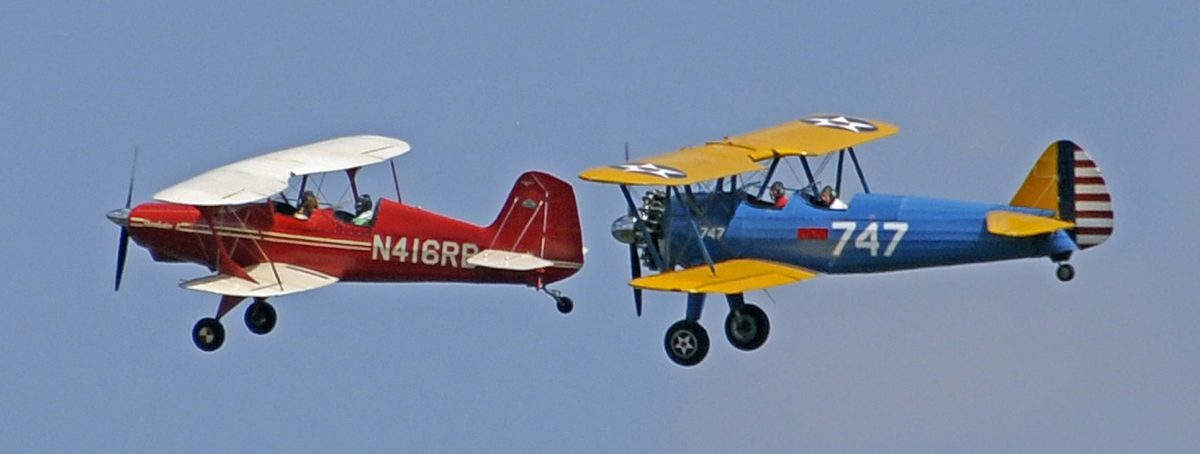 Massey Biplane Rally