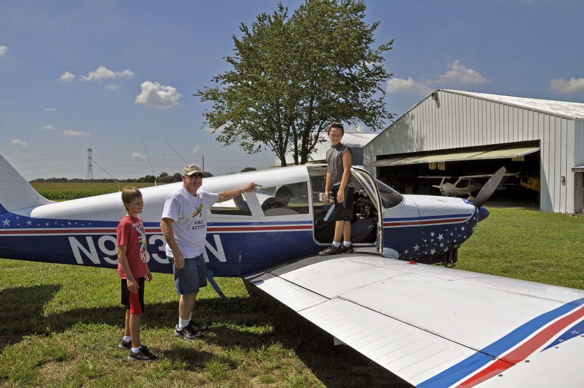 YOUNG EAGLES DAY – KIDS FLY FREE AT MASSEY on Sunday