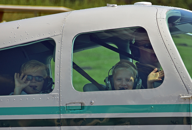 "Young Eagles Day ""Kids 8-17 Fly Free"" at Massey Aerodrome"