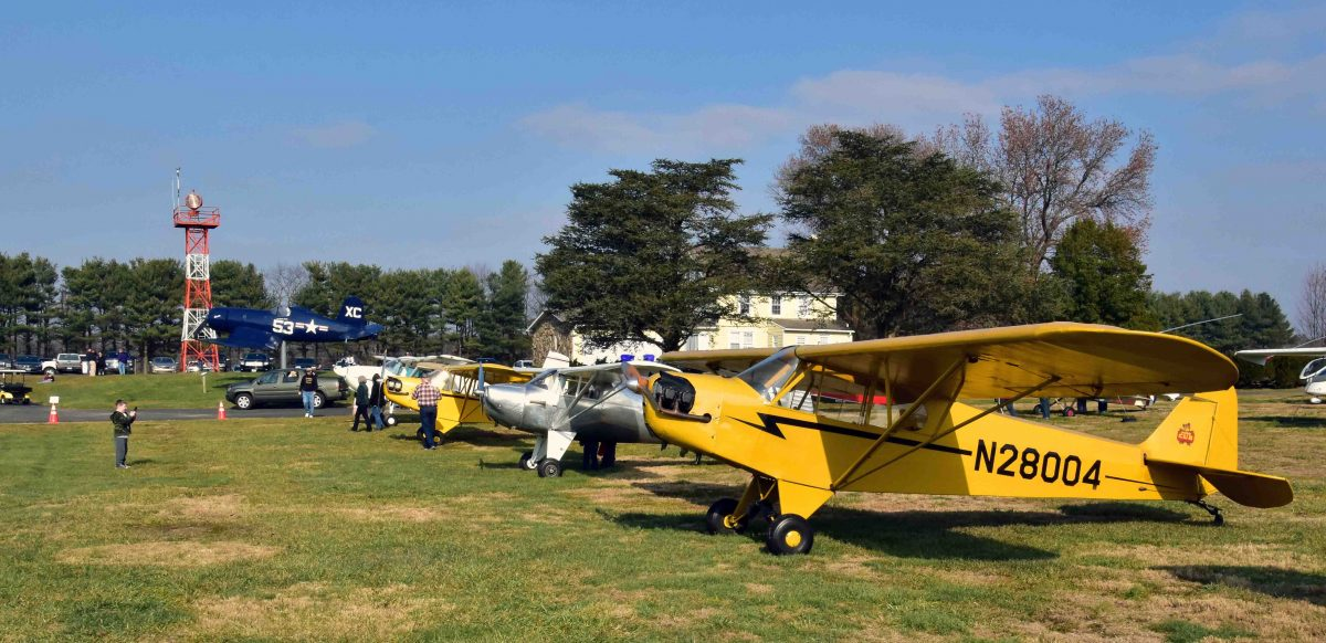 2017 Open Hangar Party & Fly-In, Dec. 3